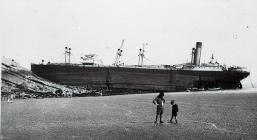 SS Valsesia Aground off Barry