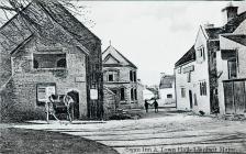 Swan Inn & Town Hall. Lantwit Major