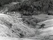 Views  from above Ceinws Bach farm of Ceinws  ...