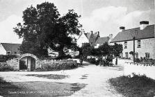 Down Cross & Great House, Llantwit Major.
