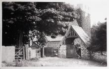Porthkerry Church.