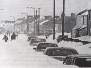 Snow in Bridgend 1982