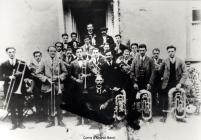 Corris and district silver band 1920-30