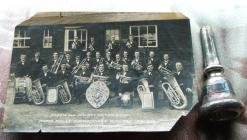 Corris and district silver band 1928-30