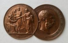 Medallion awarded to Pryce Jones, Vienna World...