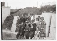 Workers at Turners Asbestos, Rhoose
