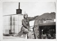 A driver at Turners Asbestos, Rhoose