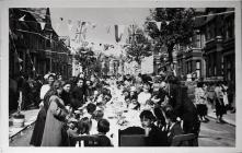 Travis Street Coronation Party, 1953
