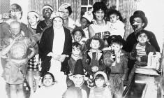 Christmas Party in Travis Street in 1959