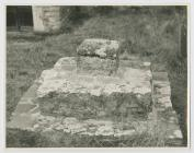 Three Tiered Grave Stone