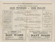 Cardiff Boxing Match between Jack Petersen and...