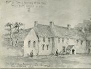 The Free School, Cowbridge - 1863 drawing