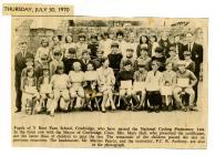 Y Bonfaen school, Cowbridge 1970