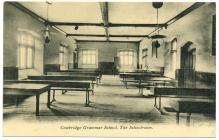 Cowbridge Grammar School schoolroom