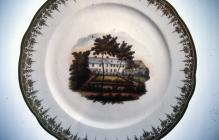 Cowbridge Free School, Nantgarw plate