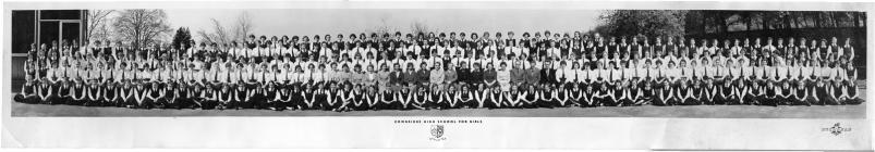 Cowbridge Girls' High School 1958 or 1959