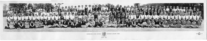 Cowbridge Girls' High School 1956