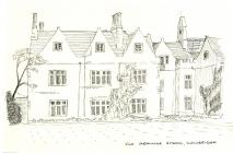 Cowbridge Grammar School sketch
