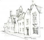 Cowbridge Gramar School sketch