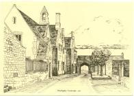 Cowbridge Grammar School, Church St, sketch