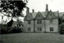 Cowbridge Grammar School derelict 1990s