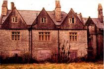 Cowbridge Grammar School, derelict 1998