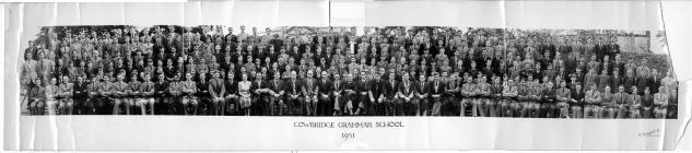 Cowbridge Grammar School photograph 1951