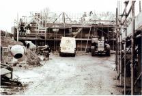 Cowbridge Grammar School covered playground