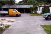 Cowbridge Grammar School covered playground...