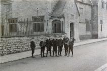 Cowbridge Grammar School and boys, early 1900s