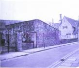 Cowbridge Grammar School fives court 1981