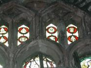 Holy Cross church, Cowbridge - stained glass