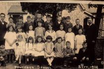 Y Bontfaen school, Cowbridge 1924