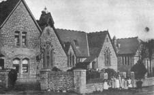 Y Bontfaen school, Cowbridge ca 1910