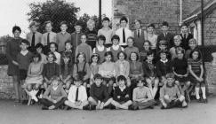 Y Bontfaen school, Cowbridge ca 1968