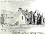 House in Church St, Cowbridge - sketch ca 1870