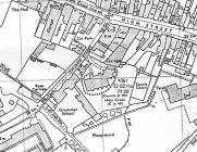 Church Street, Cowbridge - map ca 1950