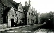 Cowbridge Grammar School, Church St. ca 1910