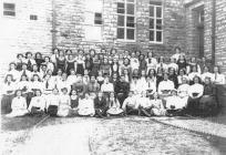 Cowbridge Girls' High School group early 1900s