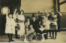 Cowbridge Girls' High School pupils ca 1923
