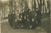 Cowbridge Girls' High School pupils 1930