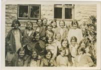 Cowbridge Girls' High School ca 1931