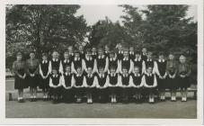 Cowbridge Girls' High School groups 1950s