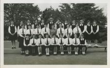 Cowbridge Girls' High School groups ca 1959