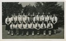 Cowbridge Girls' High School groups 1960