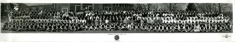Cowbridge Girls' High School photo 1962