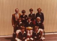Y Bontfaen school, Cowbridge, rugby team 1974