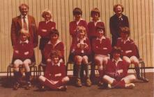 Y Bontfaen school, Cowbridge, football team 1974
