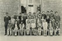 Y Bontfaen school, Cowbridge 1971