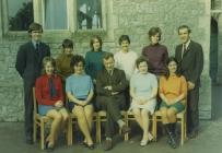 Y Bontfaen junior school, Cowbridge 1972